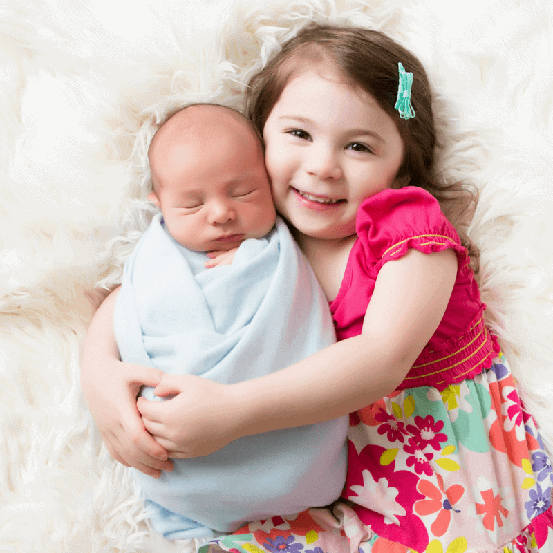 How to Avoid Sibling Rivalry with a New Baby