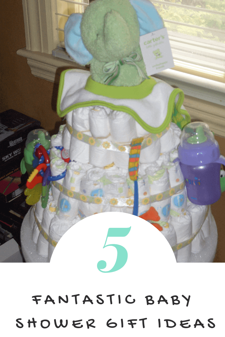 Looking for useful baby shower gift ideas?  Check out these five fun ideas! #ad