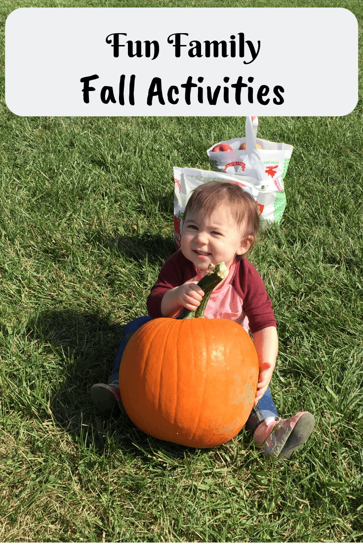 Looking for some fun ideas to do with the family this fall?  Check out these fun activities~