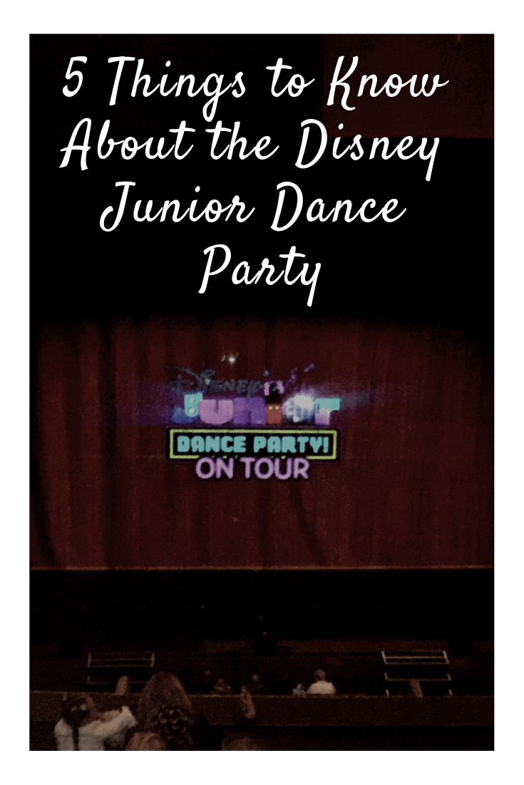 Thinking about going to the Disney Junior Dance Party tour?  Check out these 5 things to know!