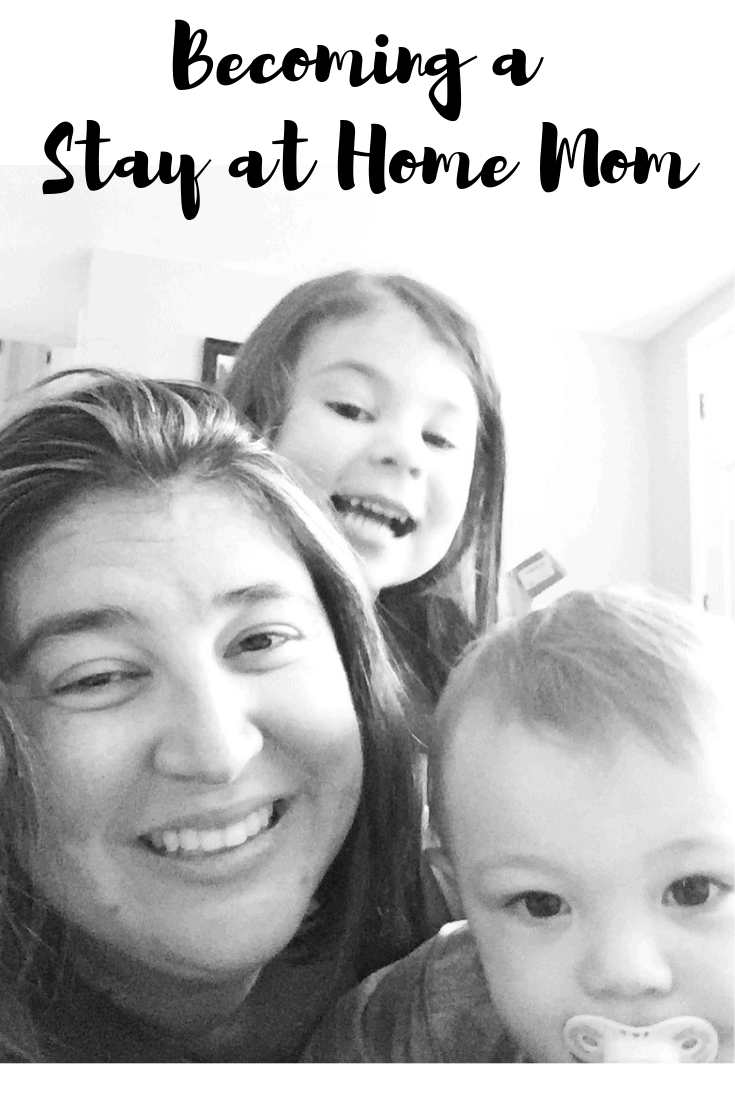 Check out my struggles and motivation for becoming a stay at home mom