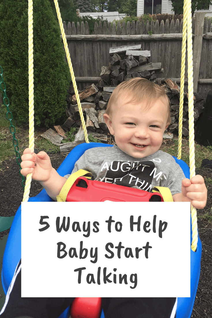 Check out these tips and ideas for helping your baby to talk