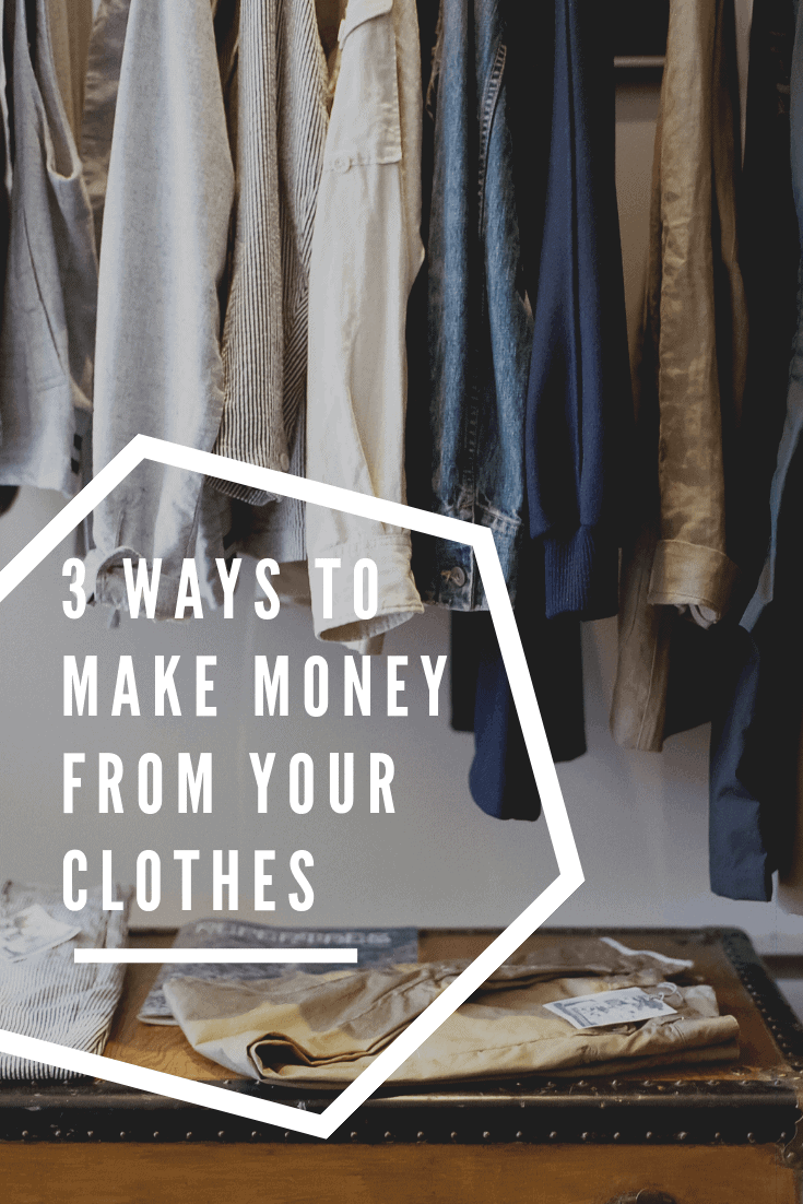 Tips and apps for selling clothes from your closet to make money