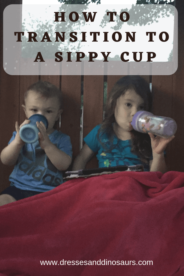 How to transition your child from a bottle to a sippy cup