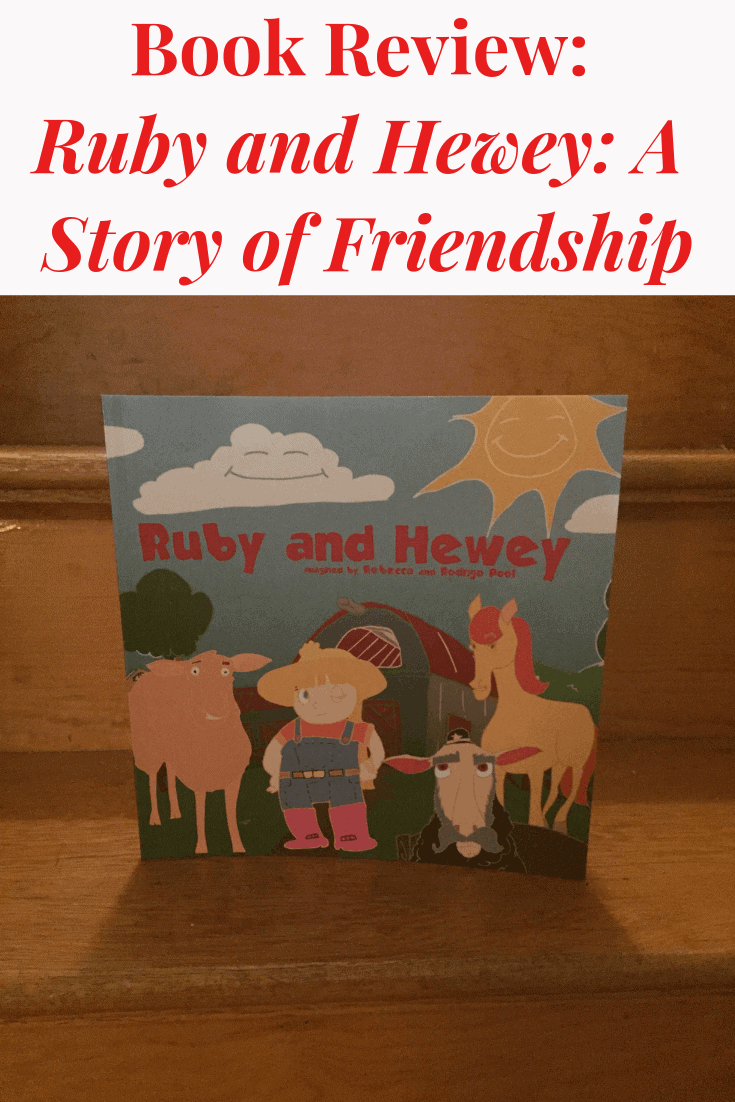 Check out this book review of the children's book, Ruby and Hewey: A Story of Friendship