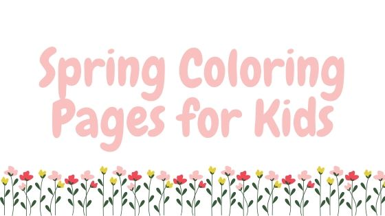 Free Spring Coloring Pages For Kids Dresses And Dinosaurs